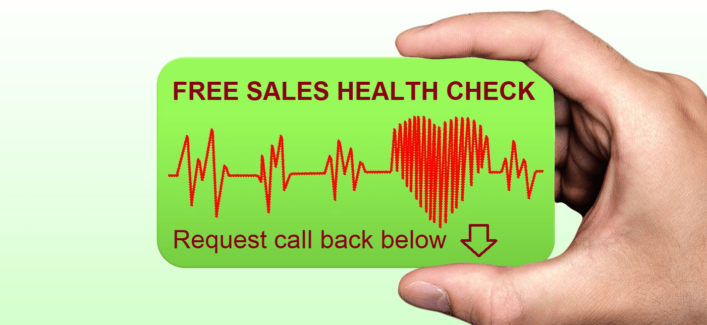 Requaet your free sales health check today